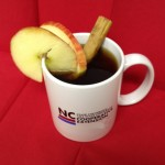 You can use your own homegrown apples to make cider, using apples and cinnamon.