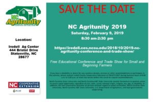 NC Agritunity Save the Date