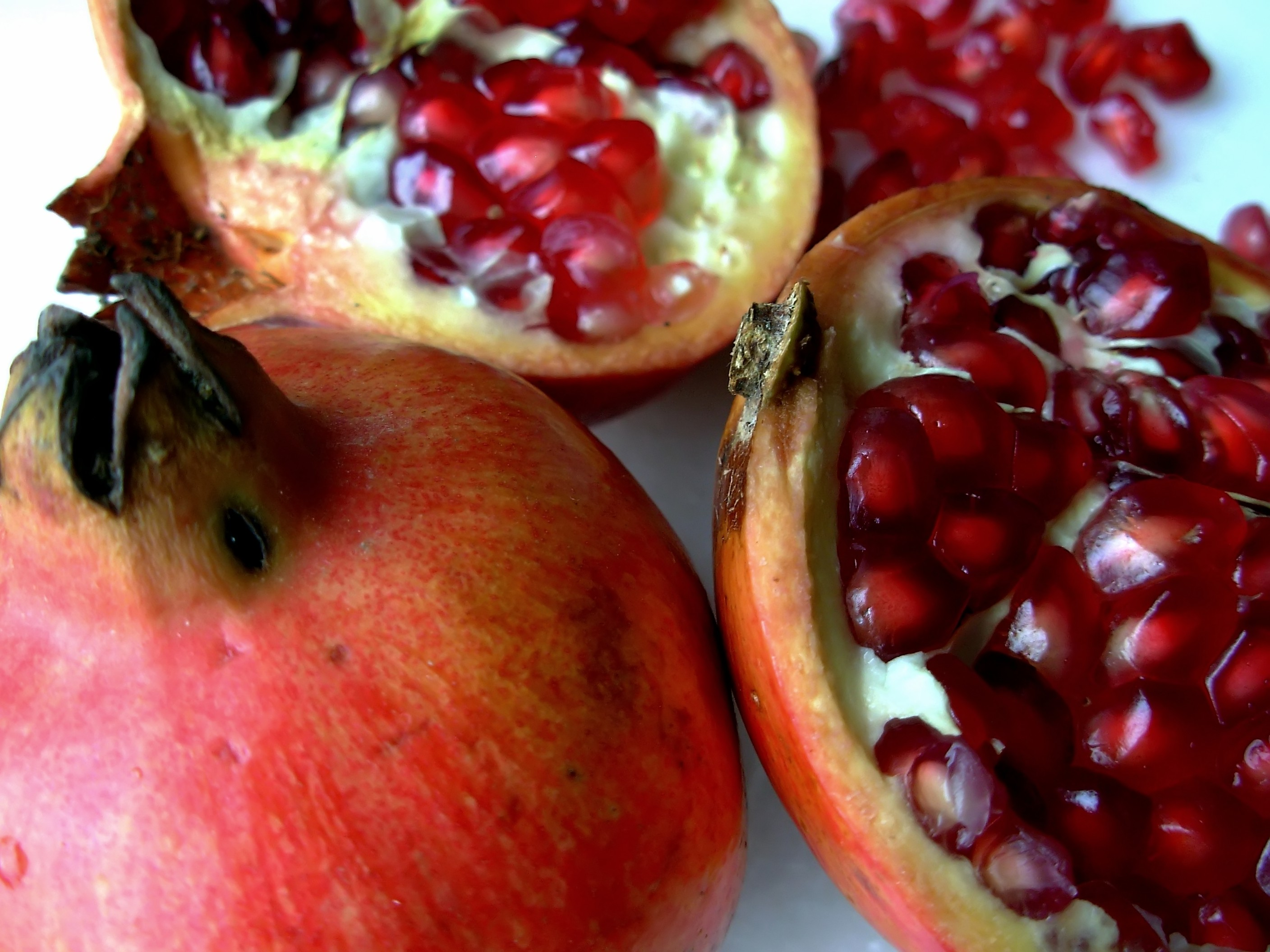 Arils of pomegrante fruit