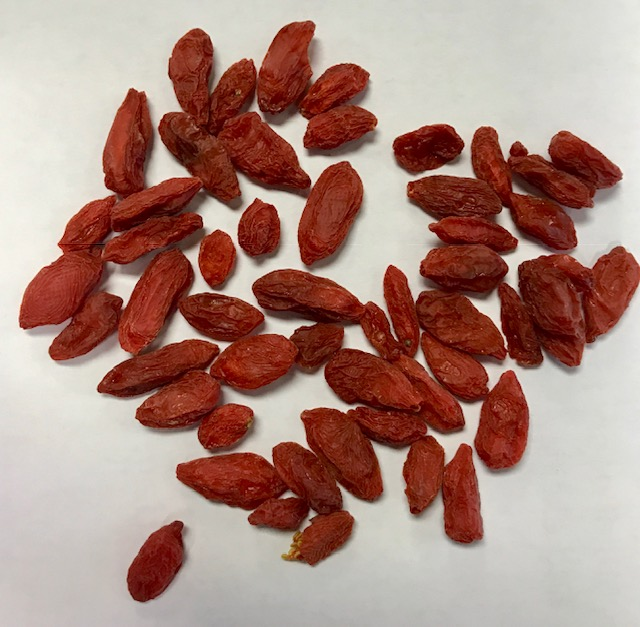 dried gogi berries