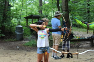 Cover photo for Send Your Child to 4-H Camp This Summer