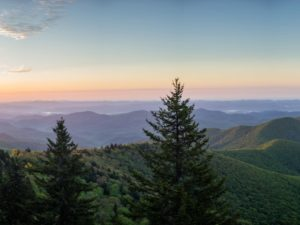 Mountains to Sea Trail Panoramic Pisgah National Forest