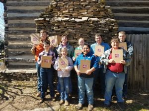 Cover photo for Rowan 4-H Dairy Judging Team Competes in State Contest