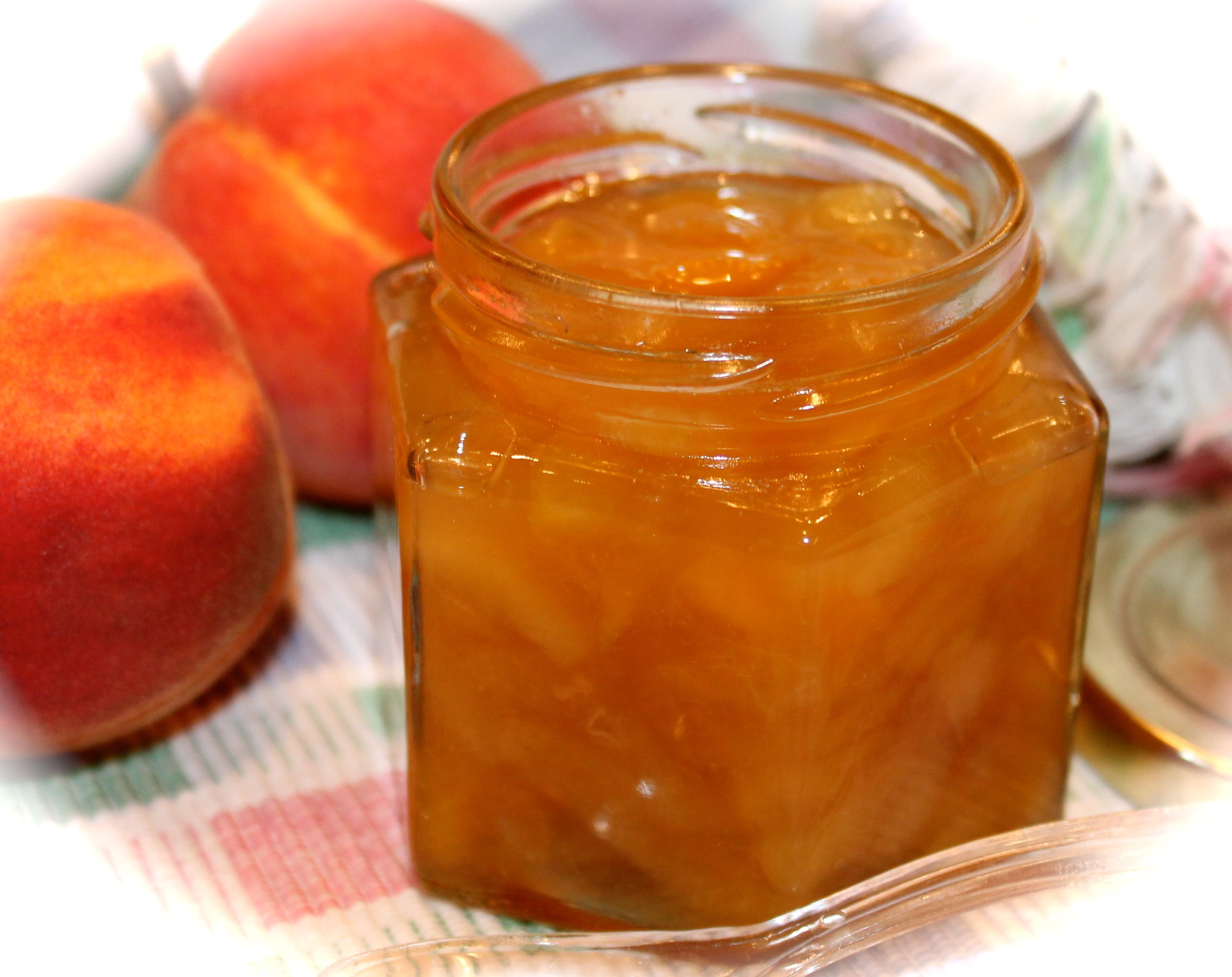 Peach Perserves