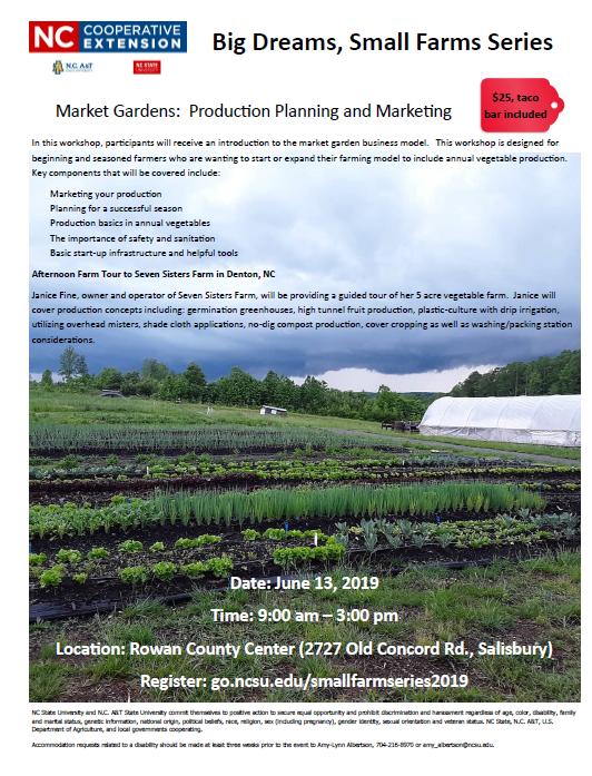 Market Gardens Flyer