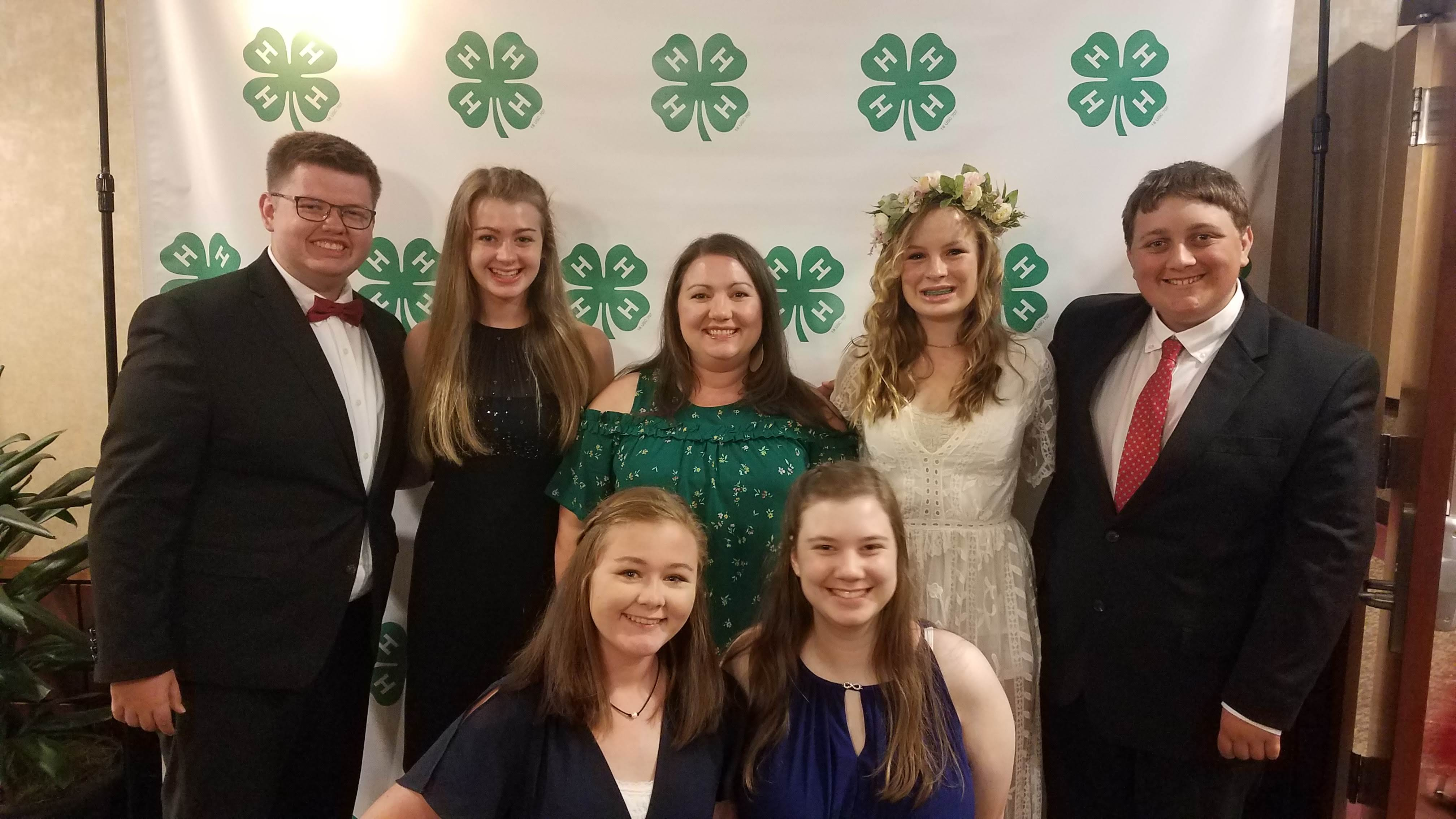Rowan County 4-H members and 4-H Agent who attended the 2019 4-H Congress in Raleigh, NC.