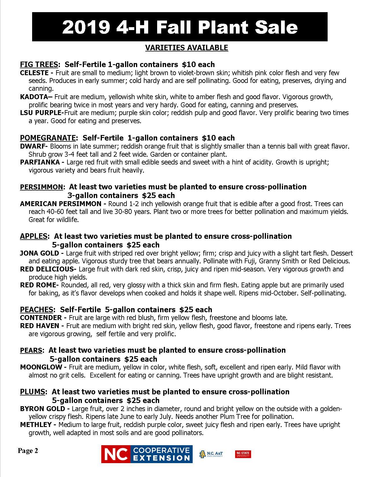Plant sale flyer image 21