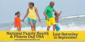 National Family Health & Fitness Day USA