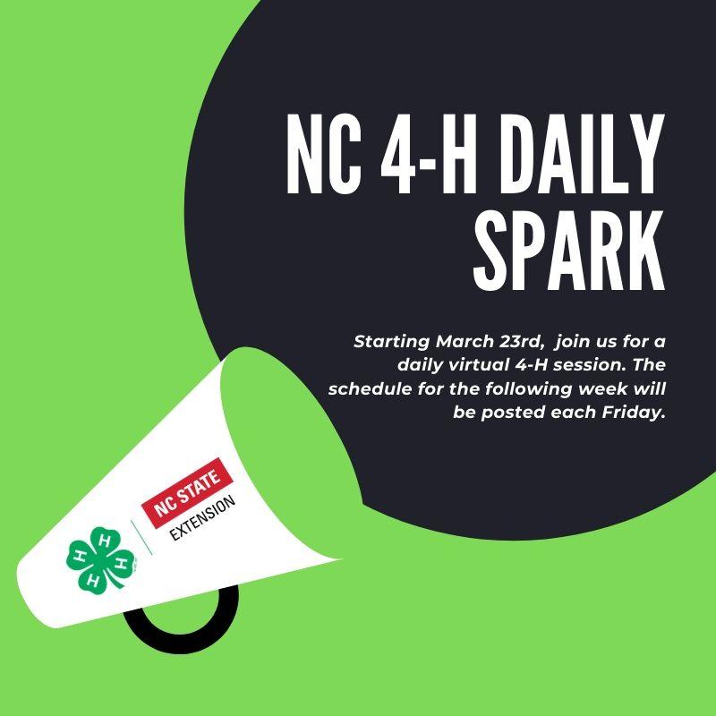 NC 4-H Daily Spark