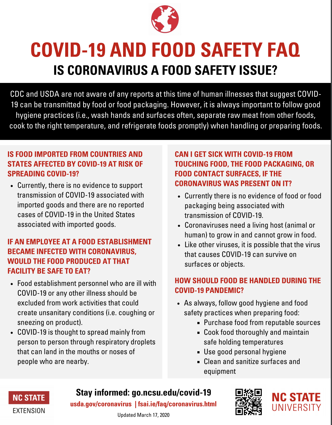 Is Food Safety an dIssue flyer image