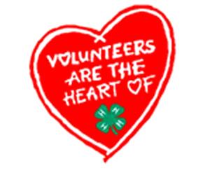 We love 4-H volunteers