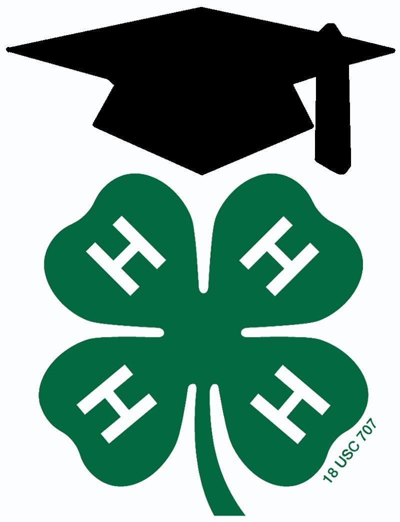 4-H graduation cap