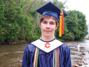 Carson graduate Samuel Oster