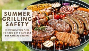 Cover photo for Keep Foods Safe When Grilling