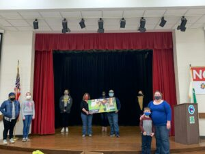 Cover photo for Rowan County Farmer Directs America's Farmers Grow Communities Donation to Rowan County 4-H Club