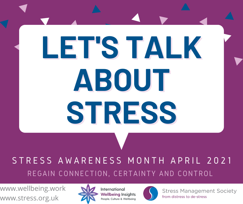 Let's Talk About Stress flyer image