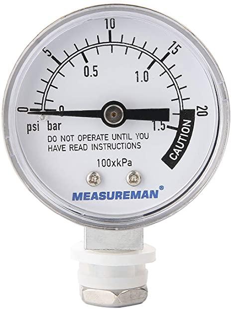 Dial Pressure Canner Gauge