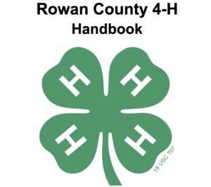 Cover photo for Rowan County 4-H Handbook