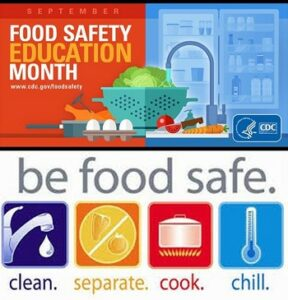 Cover photo for Tips to Remember for National Food Safety Month