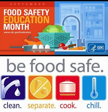 Food Safety Education Month flyer