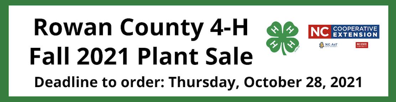 Plant Sale banner image